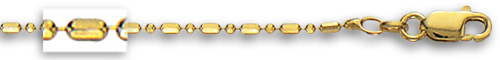 Yellow Gold Bead Chain