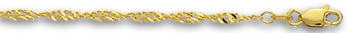Yellow Gold Dorica Chain