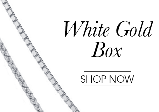 White Gold Box Chains