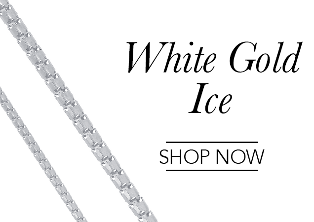 White Gold Ice Chains