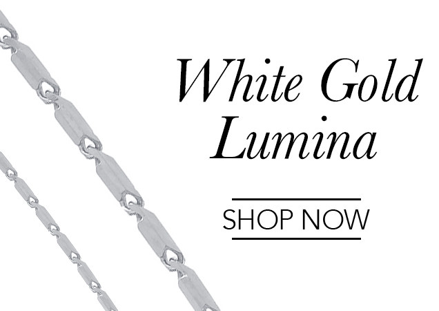 White Gold Lumina Chains