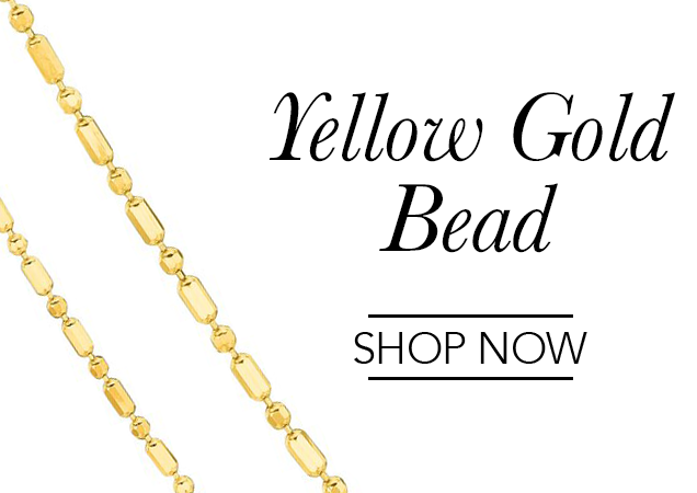 Yellow Gold Bead Chains