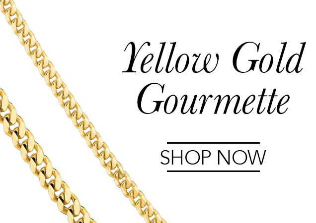 Yellow Gold Gourmette Chains