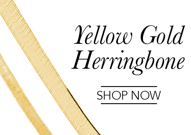 Yellow Gold Herringbone Chains