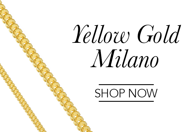 Yellow Gold Milano Chains