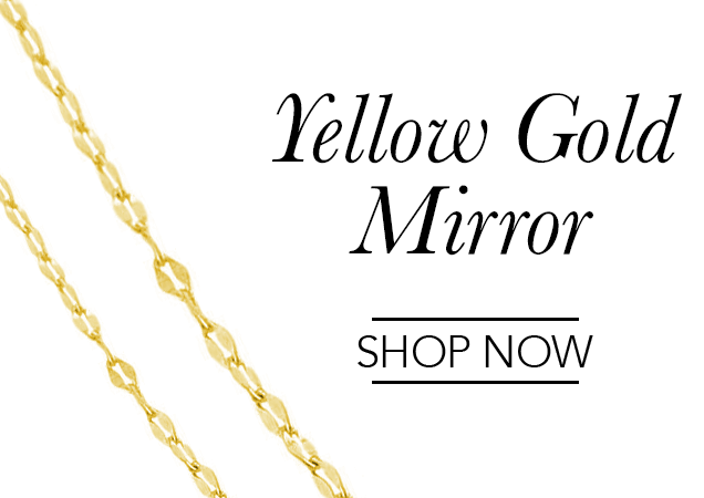 Yellow Gold Mirror Chains