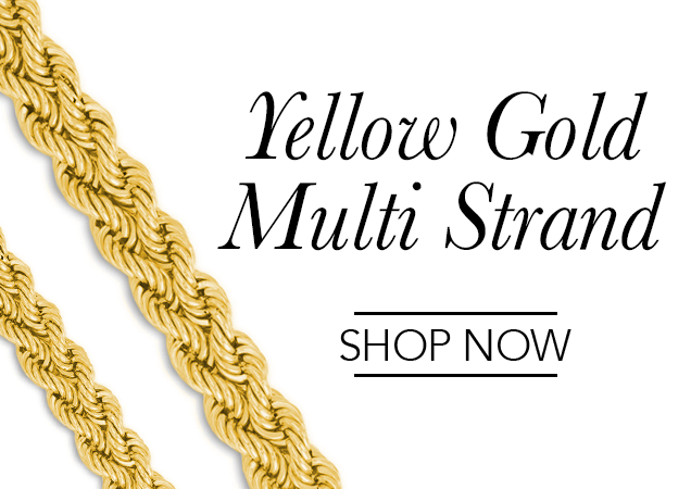 Yellow Gold Multi Strand Chains