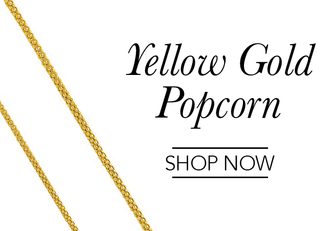 Yellow Gold Popcorn Chains