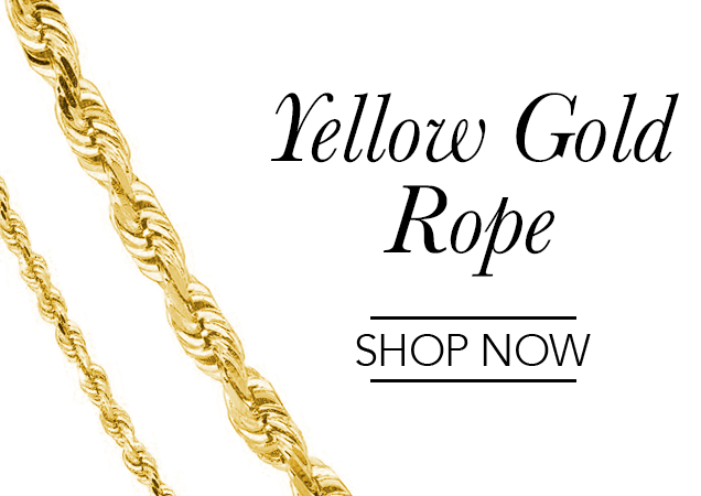 Yellow Gold Rope Chains