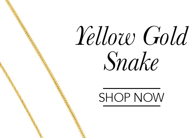 Yellow Gold Snake Chains