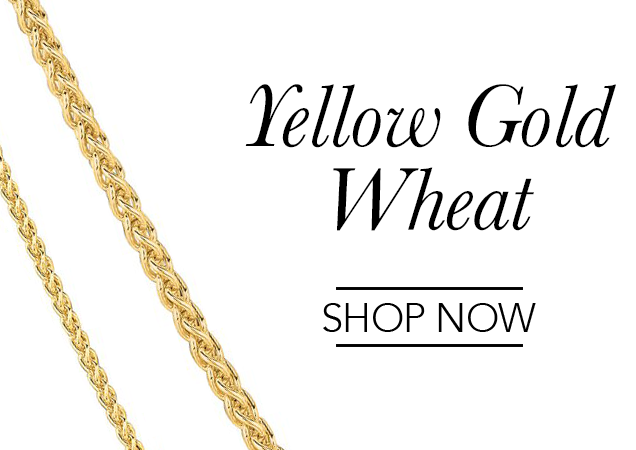 Yellow Gold Wheat Chains
