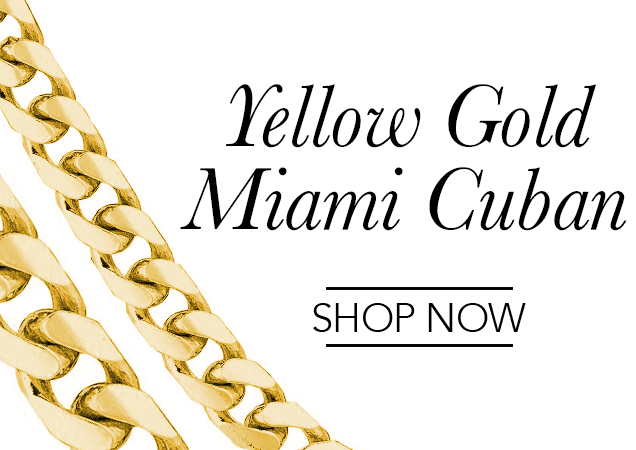 Yellow Gold Miami Cuban Chains