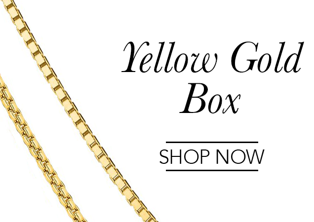 Yellow Gold Box Chains