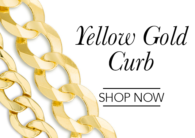 Yellow Curb Chains