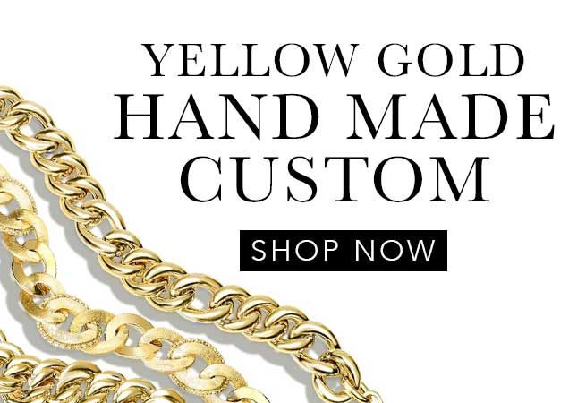 Yellow Gold Handmade Custom Chains