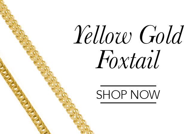 Yellow Gold Foxtail Chains
