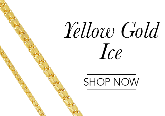 Yellow Gold Ice Chains