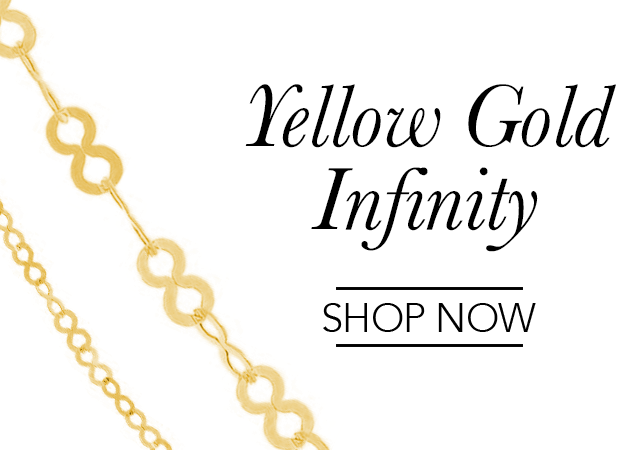 Yellow Gold Infinity Chains
