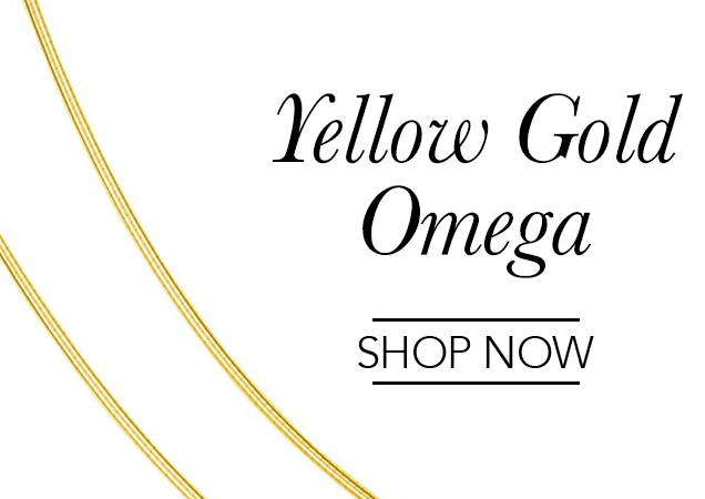 Yellow Gold Omega Chains