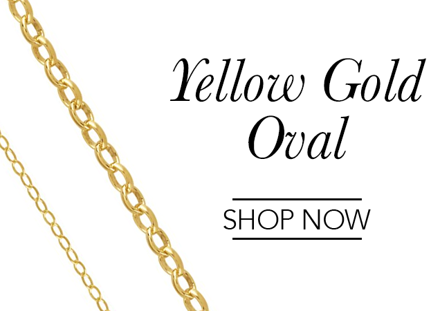 Yellow Gold Oval Chains